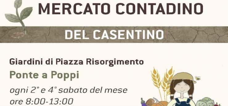 Mercato Contadino del Casentino – Piazza Risorgimento, Poppi (Arezzo)