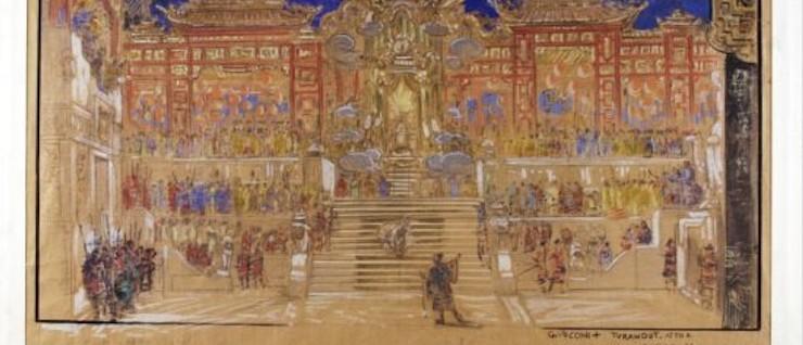 Turandot e l'oriente fantastico di Puccini, Chini, Caramba – Museo del Tessuto, Prato (Prato)