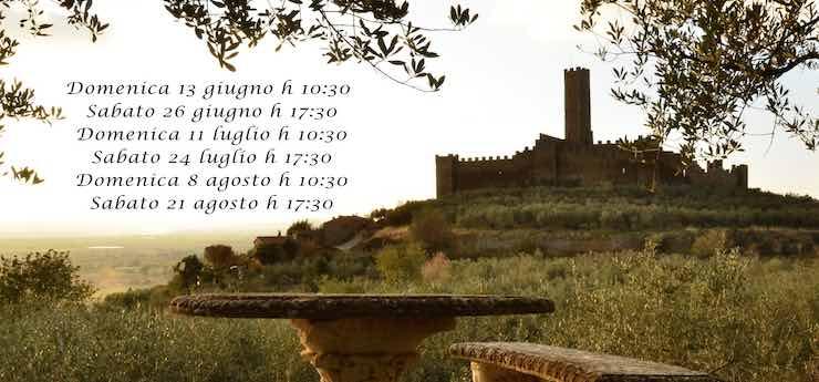 Visite guidate al Castello di Montecchio Vesponi – Castiglion Fiorentino (Arezzo)