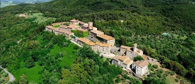 Castello Ginori – Castello Ginori di Querceto, loc. Querceto – Montecatini Val di Cecina (Pisa)