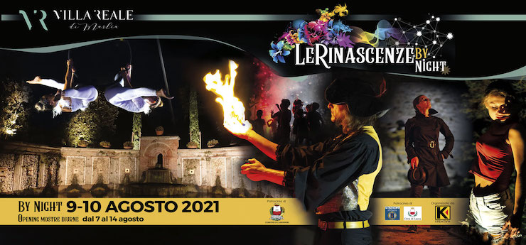 Le Rinascenze by Night – Marlia (Lucca)
