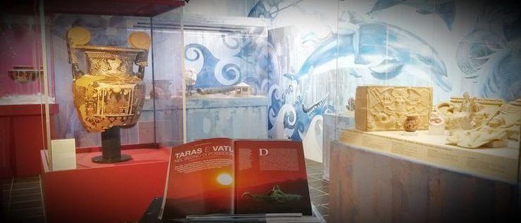 Taras e Vatl. Dei del mare, fondatori di cittа. Archeologia di Taranto a Vetulonia – Museo Civico Archeologico 'Isidoro Falchi', loc. Vetulonia (Grosseto)