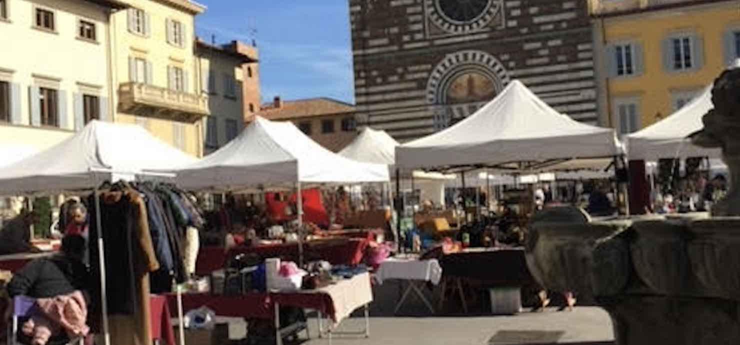 Collezionare in Piazza – Piazza San Francesco, Prato