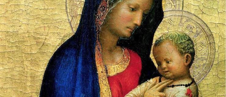 Masaccio, Madonna 'del solletico'. L'eredità del cardinal Antonio Casini, principe senese della Chiesa – Cripta del Duomo, Siena (Siena)