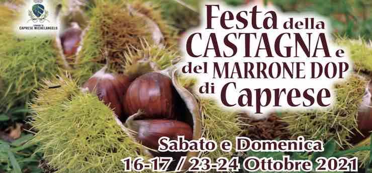 Festa della castagna e del marrone dop – Caprese Michelangelo (Arezzo)