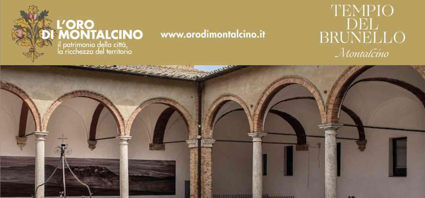 InChiostro. L'oro di Montalcino – Complesso di Sant'Agostino, Montalcino (Siena)