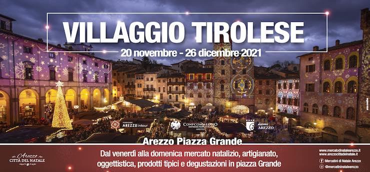 Villaggio Tirolese – Piazza Grande, Arezzo